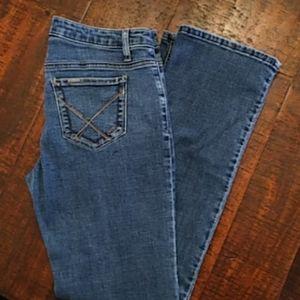 Wrangler Jeans Straight Leg size 8 EUC